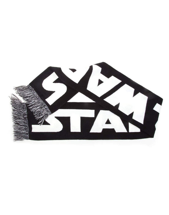 Star Wars KS080439STW White and Black Scarf (One Size)