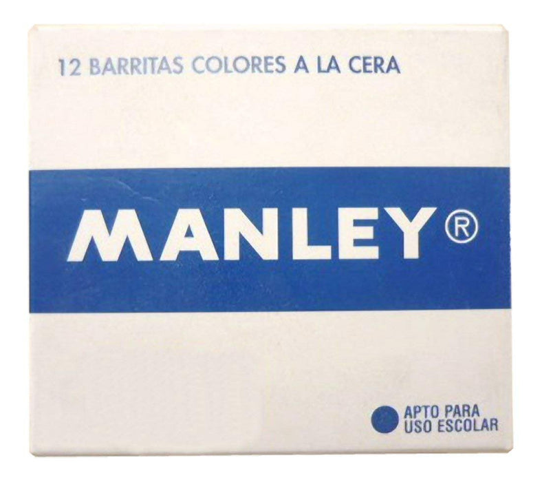 Manley 2 – Wax Crayons, Pack of 12