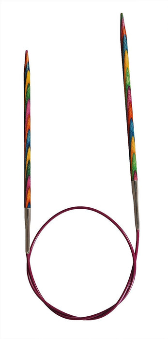 KnitPro 80 cm x 2.75 mm Symfonie Fixed Circular Needles, Multi-Color
