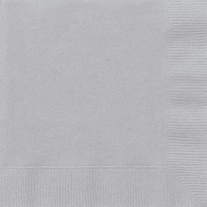 "Unique Party 33242 - 6.5"" Gold Paper Napkins, Pack of 50"
