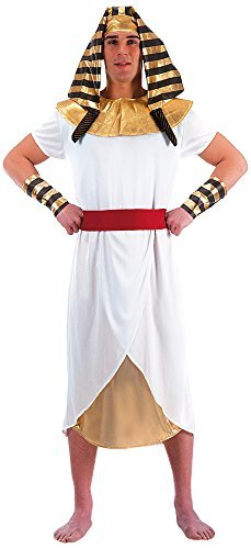 Carnival Toys 80390, Pharaoh Mens Costume, One Size M/L