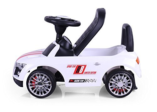 MILLY MALLY 22442 Ride On Racer, White