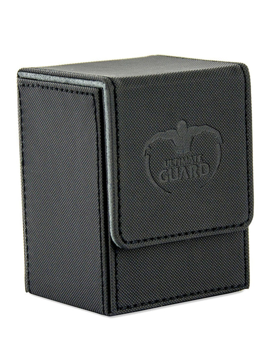 Ultimate Guard Standard Size XenoSkin 80 Plus Flip Deck Case (Black)