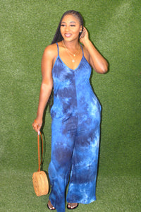 Ride The Wave Jumpsuit (Navy)