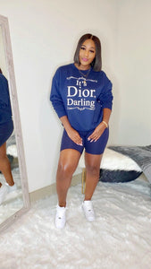 It's Dior Set (Navy)