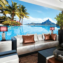 Load image into Gallery viewer, Custom Photo Mural Wallpaper 3D Mediterranean Nature Landscape Large Wall Painting Living Room Sofa Bedroom Background Wallpaper - WallpaperUniversity