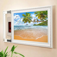 Load image into Gallery viewer, 3D Photo Wall Paper Custom Mural Wallpaper Seascape Coconut Tree Parrot Landscape Wall Painting For Living Room TV Background - WallpaperUniversity