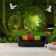 Load image into Gallery viewer, FOREST CLEARING Wall Mural - WallpaperUniversity
