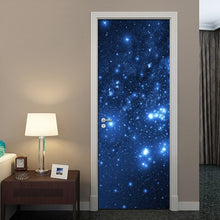 Load image into Gallery viewer, Modern 3D Stereoscopic Effect Star Sky Mural Wallpaper Living Room Bedroom Door Decoration Wall Painting PVC Stickers Waterproof - WallpaperUniversity