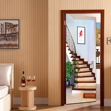 Load image into Gallery viewer, 'ALOHA' 3D Staircase Door Mural - WallpaperUniversity