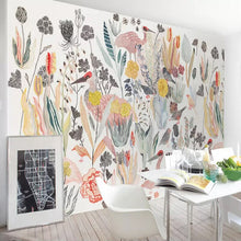 Load image into Gallery viewer, Custom Mural Wallpaper Nordic Tropical Plant Birds Background Photo Wall Paper 3D For Living Room Bedroom Decoration Wall Murals - WallpaperUniversity
