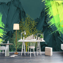Load image into Gallery viewer, Custom 3D Wallpaper For Bedroom Walls Modern Art Mural Abstract High Mountain Tree Living Room Sofa Background Photo Wall Paper - WallpaperUniversity