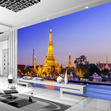 Load image into Gallery viewer, Custom 3D Photo Wallpaper Thai Palace Jinta TV Background Home Decoration Living Room Bedroom 3D Wall Murals Wallpaper Art - WallpaperUniversity