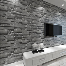 Load image into Gallery viewer, ASYMMETRICAL STACKED BRICK Wallpaper Wall Covering - WallpaperUniversity