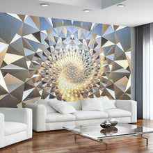 Load image into Gallery viewer, Custom Mural Wallpaper 3D Stereoscopic Space Abstract Geometric Pattern KTV Bar Photo Wallpaper For Living Room Bedroom Walls 3D - WallpaperUniversity