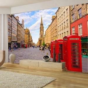 Custom 3D Photo Wallpaper Non-woven Mural European Street Scenery Wall Decorations Living Room Bedroom Wall Covering Wallpaper - WallpaperUniversity