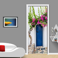 Load image into Gallery viewer, PVC Waterproof Self-adhesive Door Sticker Wall Papers Home Decor Natural Landscape Large Murals Door Mural 3D Wallpaper Roll