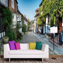 Load image into Gallery viewer, Custom 3D Photo Wallpaper Fantastic Scenery Stone Path Green Mural Wallpaper Living Room Sofa Bedroom Mural Flower Decoration - WallpaperUniversity