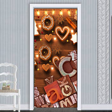 Load image into Gallery viewer, Violin Music Letters Wood Carving DIY Living Room Bedroom Art Decor Door Sticker Mural PVC Waterproof Self-adhesive Wall Paper - WallpaperUniversity