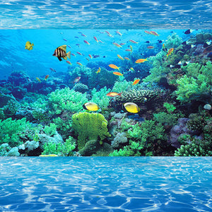 Custom 3D Photo Wallpaper Mural 3D Stereoscopic Space Underwater World Living Room Bedroom TV Background Paper Wall Papers 3D - WallpaperUniversity