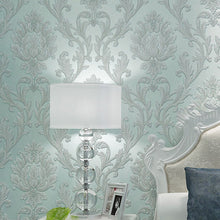 Load image into Gallery viewer, EUROPEAN DAMASK EMBOSSED Wallpaper Wall Covering - WallpaperUniversity
