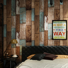 Load image into Gallery viewer, RUSTIC WOOD DISTRESSED PAINT Wallpaper Wall Covering - WallpaperUniversity