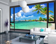 Load image into Gallery viewer, Custom Photo Wallpaper 3D Stereoscopic Seascape Modern Minimalist Living Room Non-woven Mural Wallpaper For Bedroom Walls 3D - WallpaperUniversity