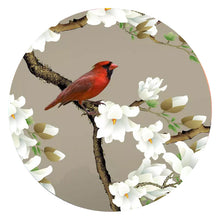 Load image into Gallery viewer, Custom 3D Photo Wallpaper For Bedroom Walls Classical Hand Painted Magnolia Flower Bird Living Room TV Background Wall Mural - WallpaperUniversity