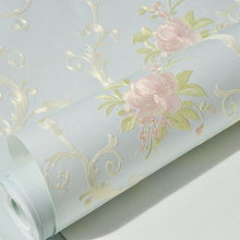 Load image into Gallery viewer, COUNTRY FRENCH WILD ROSES Wallpaper Wall Covering - WallpaperUniversity