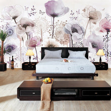 Load image into Gallery viewer, Custom Mural Wallpaper 3D Fashion Watercolor Hand Painted Flower Floral Living Room TV Background Home Decor Wallpaper Painting - WallpaperUniversity