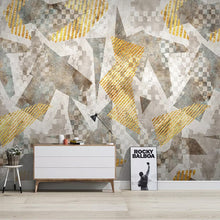 Load image into Gallery viewer, Custom 3D Photo Wallpaper Nordic Abstract Geometric Art Wall Painting Living Room Bedroom Sofa TV Background Wall Decor Mural - WallpaperUniversity