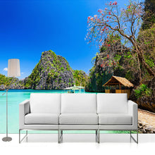 Load image into Gallery viewer, Custom Any Size 3D Photo Wallpaper Seaside Beach Landscape Photography Background Wall Decorations Living Room Mural Wallpaper - WallpaperUniversity