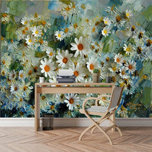 Load image into Gallery viewer, Custom 3D Photo Wallpaper Murals Floral Stereoscopic Oil Painting Living Room TV Backdrop Wall Papers Home Decor Prints Wall Art - WallpaperUniversity