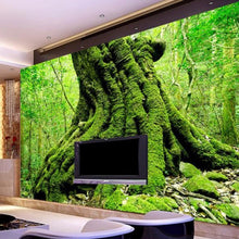 Load image into Gallery viewer, Custom Photo Wall Paper 3D European Green Forest Trees 3D Nature Landscape Bedroom Living Room Sofa Backdrop 3D Wallpaper Murals - WallpaperUniversity