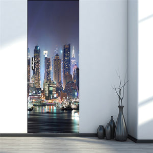 Large Sea View 3D Wall Mural Wallpaper For Living Room Bedroom Door Decor Mural Sticker Self-adhesive Waterproof Wall Paper Roll - WallpaperUniversity