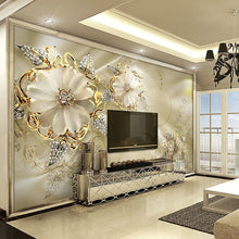 Load image into Gallery viewer, EXTRAVAGANT FLORAL Wall Mural - vouswall.com