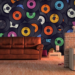 Custom Mural Wallpaper Modern Fashion Album Collage Wallpaper Bar Cafe KTV Living Room Backdrop Mural Wall Papers Home Decor - WallpaperUniversity