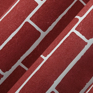 BRICK TEXTURE EMBOSSED Wallpaper Wall Covering - WallpaperUniversity