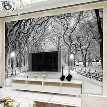 Load image into Gallery viewer, Custom Any Size 3D Mural Wallpaper Tree Forest Road Living Room Bedroom TV Background Wall Painting Wallpaper Papel De Parede 3D - WallpaperUniversity