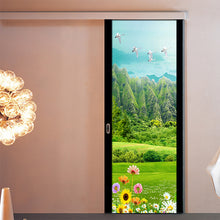 Load image into Gallery viewer, Fresh Grassland Hot Air Balloon 3D Wall Decoration Mural Wallpaper Living Room Bedroom Bathroom Door Stickers Waterproof Sticker - WallpaperUniversity