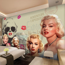 Load image into Gallery viewer, Custom Photo Mural Wallpaper Classic Movie Star 3D Poster Wall Painting Bedroom Living Room Background Wall Papers Home Decor - WallpaperUniversity
