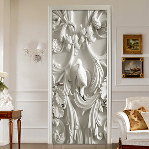NEO-CLASSICAL RAISED PANEL Door Mural - vouswall.com