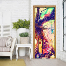 Load image into Gallery viewer, Modern Abstract Graffiti Art Mural Children Room Bedroom Living Room Door Sticker Mural Painting Home Decor Wallpaper Waterproof - WallpaperUniversity