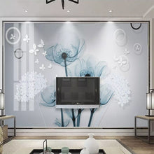 Load image into Gallery viewer, Custom 3D Photo Wallpaper 3D Stereoscopic Flower TV Background Decor Mural Modern European Style Living Room Decoration Painting - WallpaperUniversity