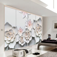 Load image into Gallery viewer, Custom 3D Photo Wallpaper Simple Modern 3D Stereoscopic Relief Flower TV Background Living Room Bedroom Wall Mural Wallpaper - WallpaperUniversity