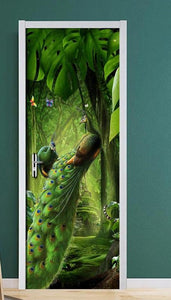 FANTASY FOREST Door Mural - WallpaperUniversity
