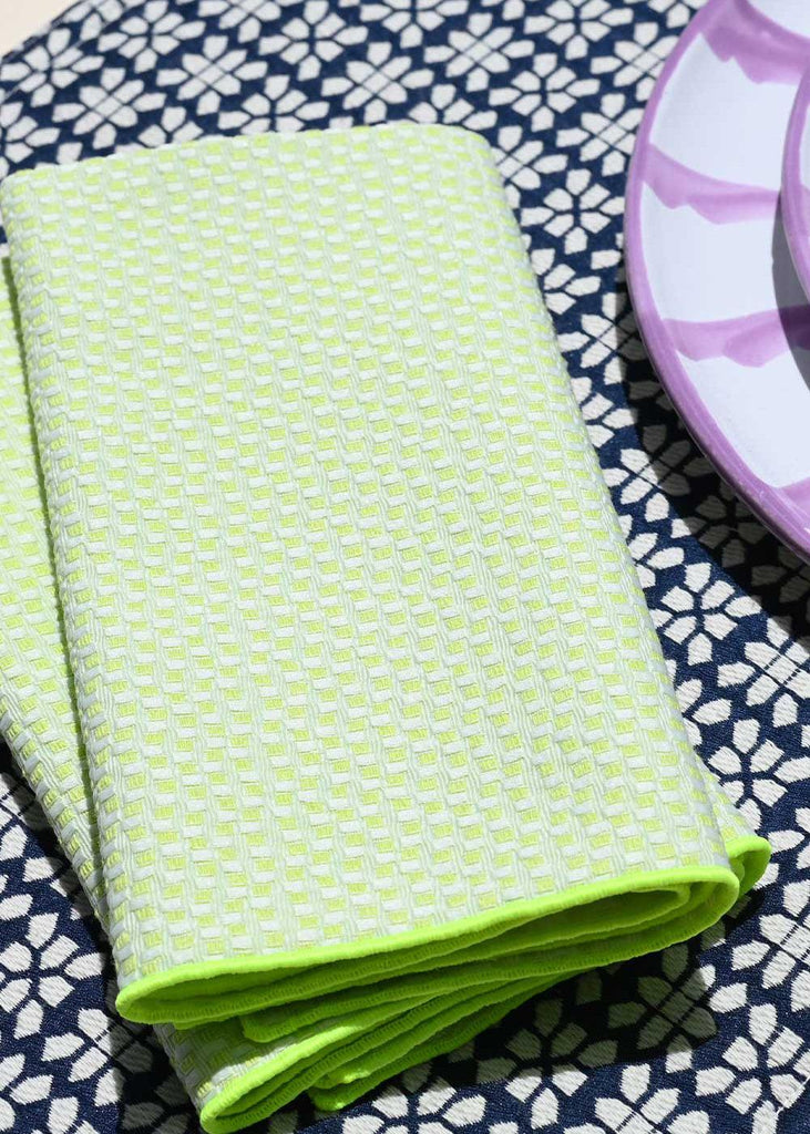 Electric Weave Napkins - Set of 4