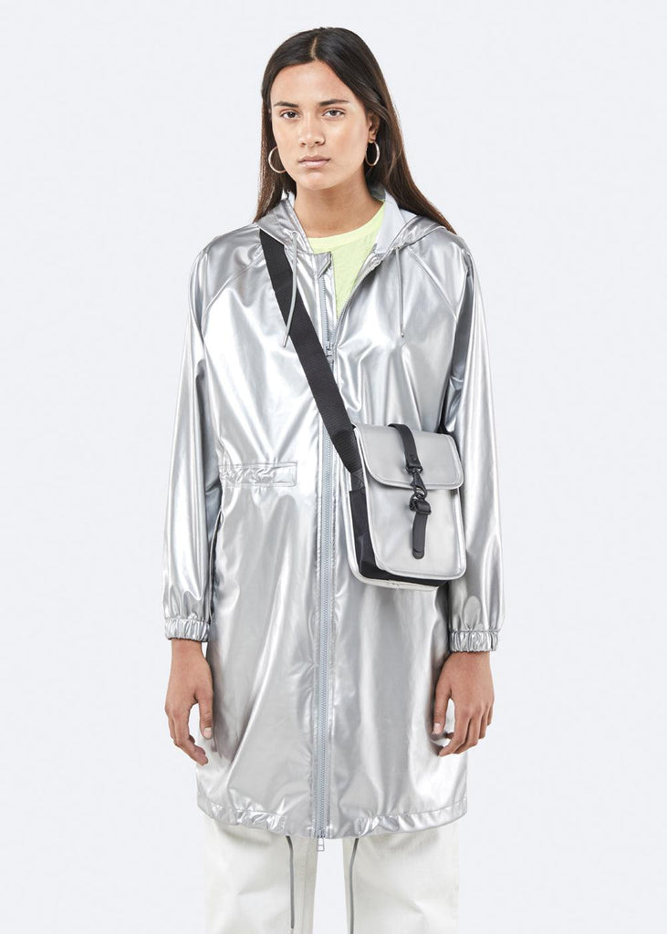Flight Bag - Silver - cara cara