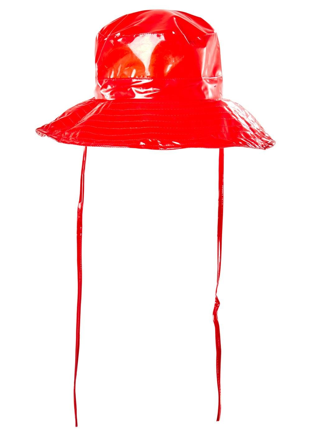 Boonie Hat - Glossy Red - cara cara