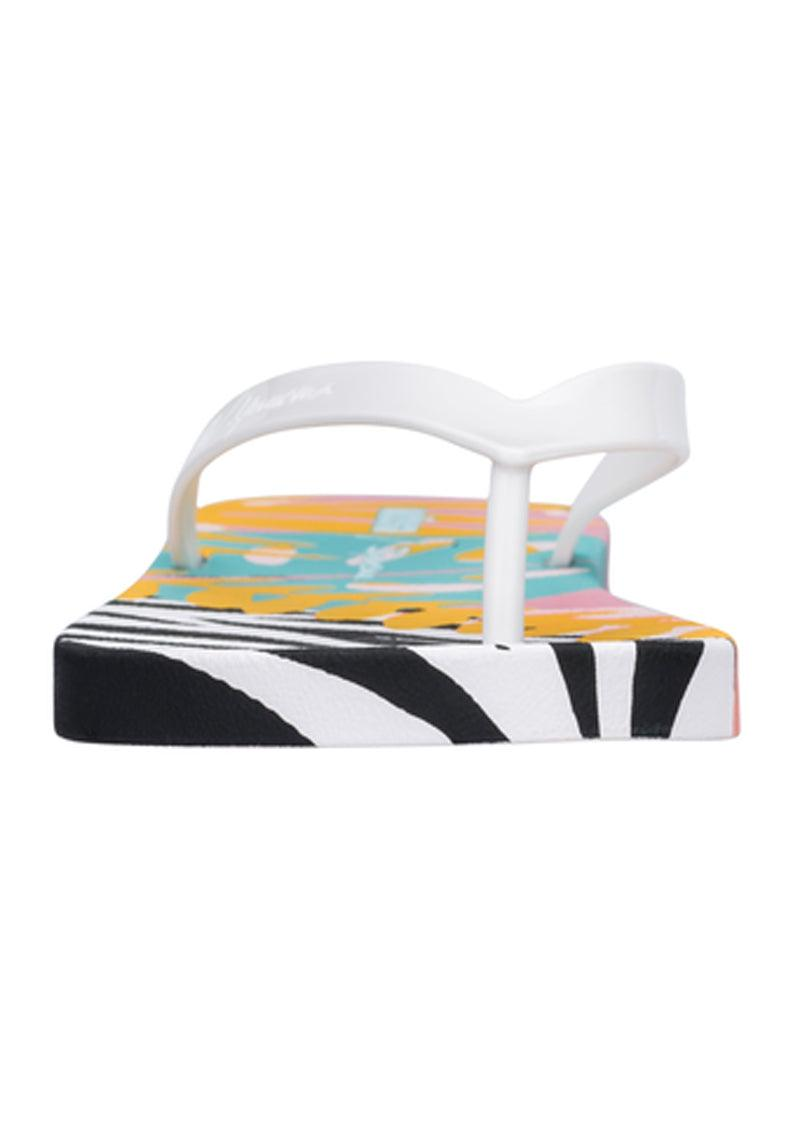 Ipanema Flip Flops - White/Black